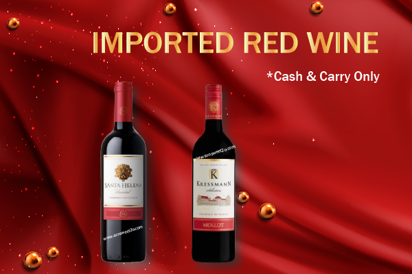 D - Import Red Wine Promotion - Cash & Carry